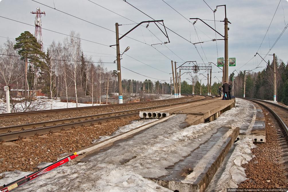 Станция Поварово-2, Станция Поварово-3, Поварово II III, платформа 142 км, БМО