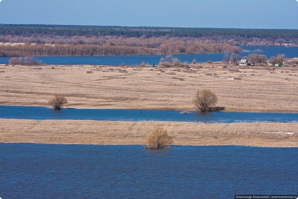 Белоомут, Константиново, Ока, наводнение
