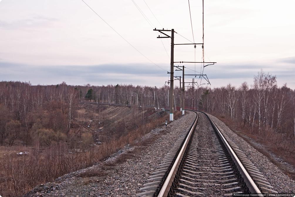 БМО, железнодорожный мост, весна, река Каширка, Колычево, Верзилово, БК МЖД