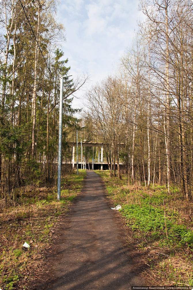 Бекасово, сортировочная станция, поселок Киевский, БМО, платформа 240 км