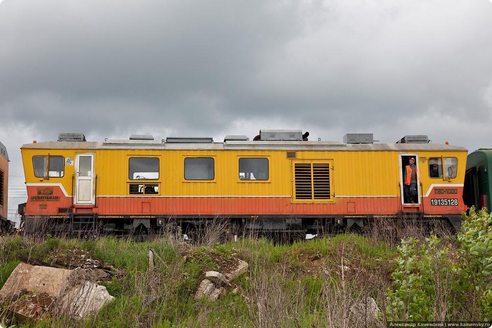 Спецтехника на железной дороге, ТЭС-1000, тягово-энергетическая секция