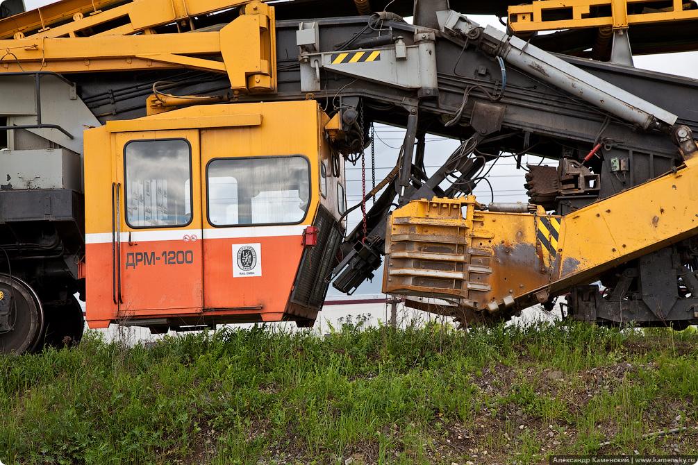 Спецтехника на железной дороге, ЩОМ-1200