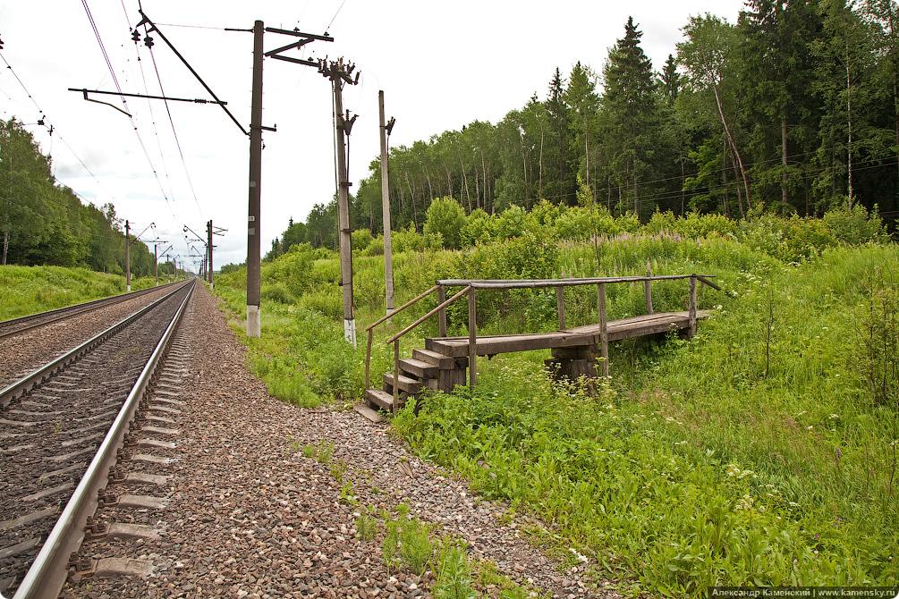 БМО, МЖД, мостки у платформы 250 км