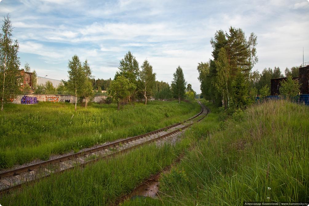 Красноармейский подъездной путь, Красноармейск, ППЖТ, железная дорога
