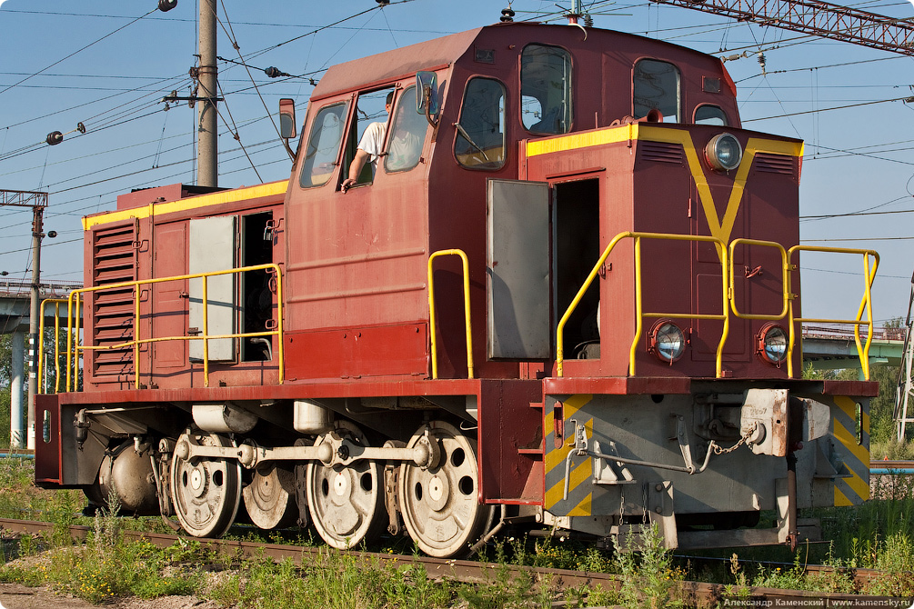 Тепловоз ТГМ23, Киржач станция, БМО.