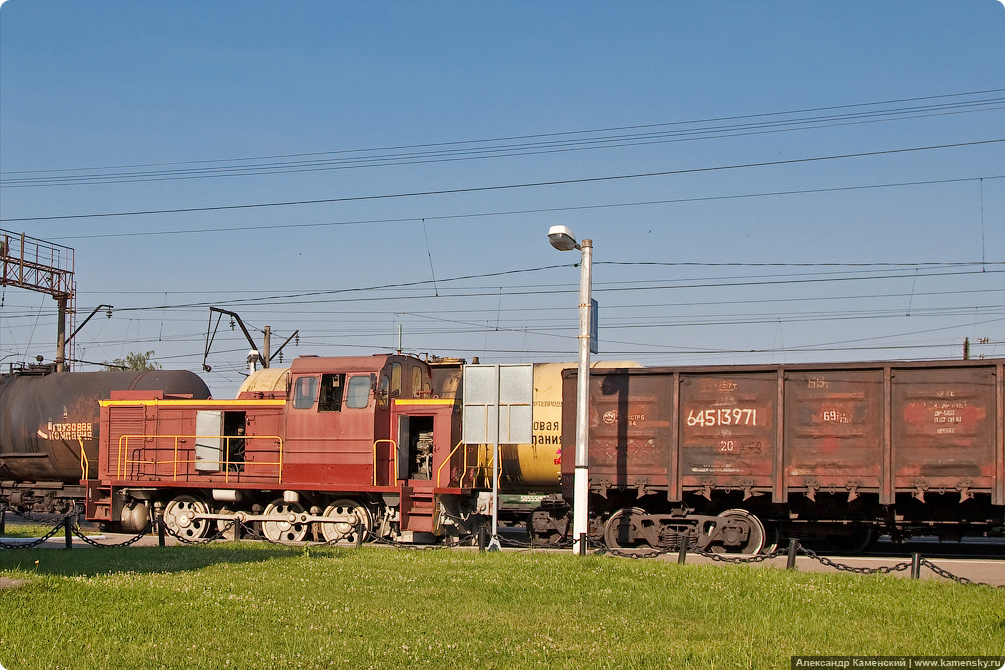 Тепловоз ТГМ23, Киржач станция, БМО