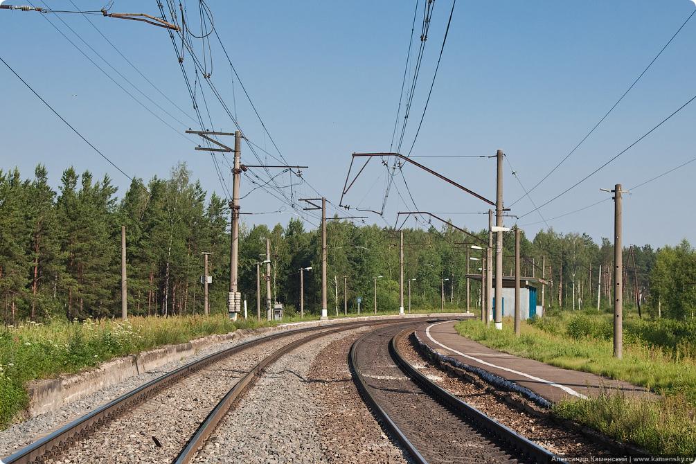 БМО, платформа 168 км, Лачуги, Красный луч