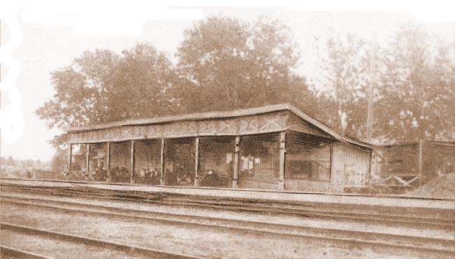 Хотьково, станция, железная дорога, железнодорожный мост