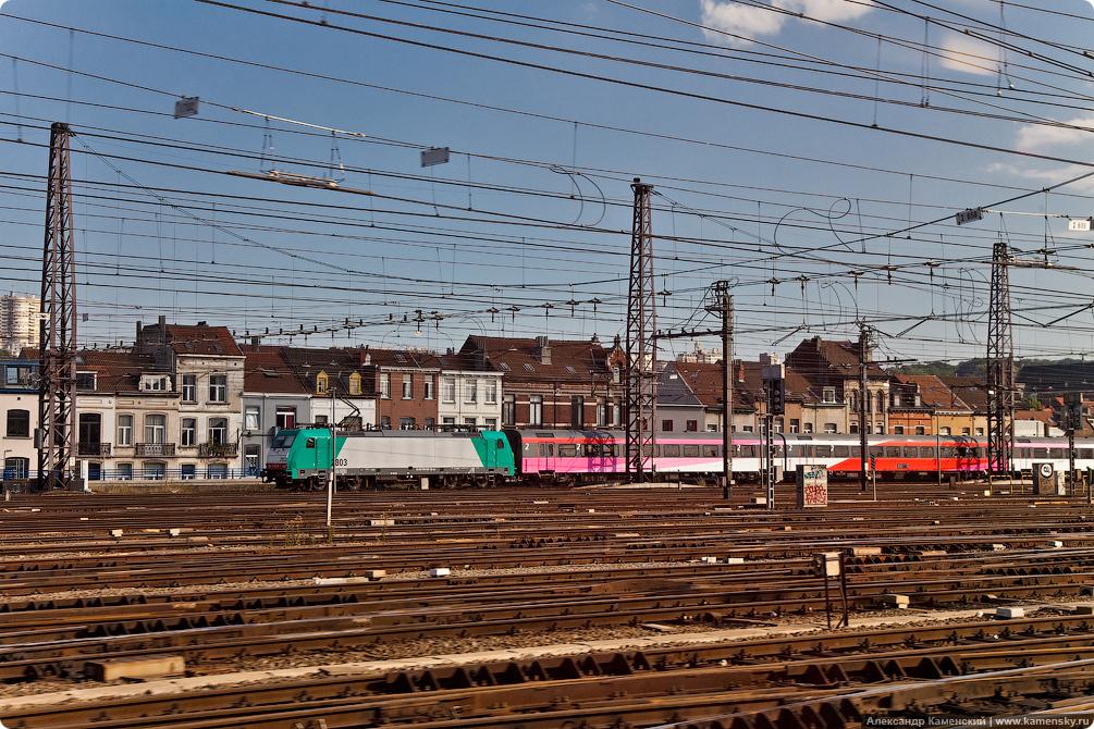 Скоростные поезда Thalys Схемы вагонов