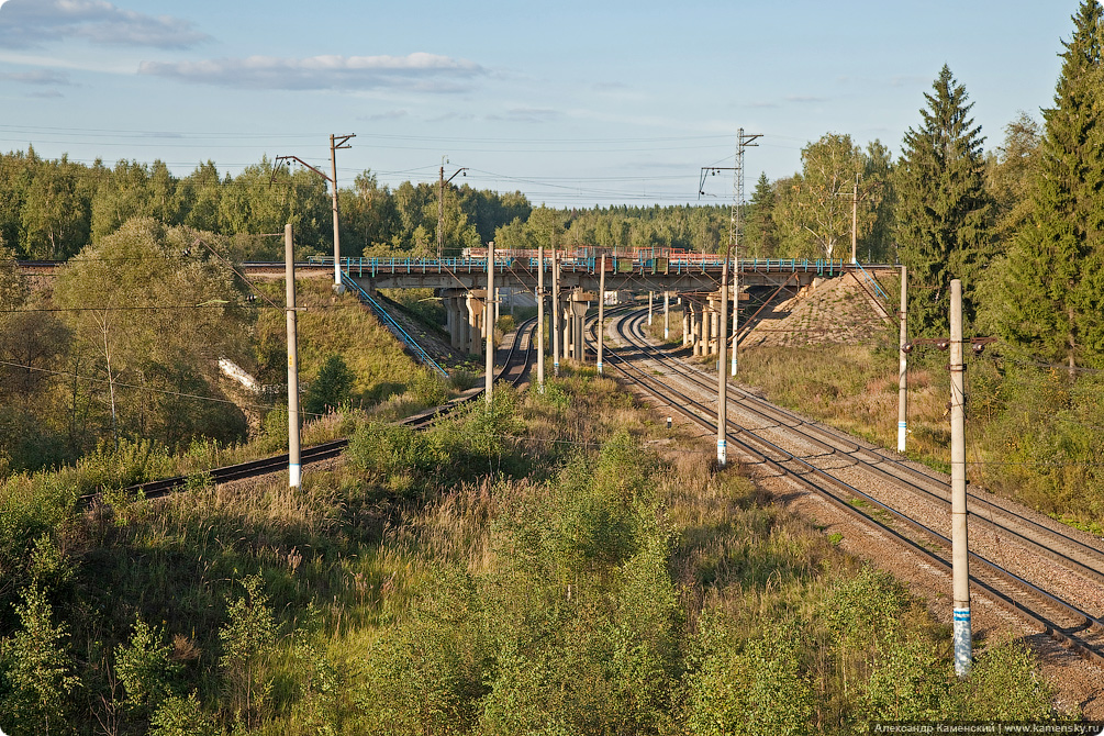 Станция Манихино, железнодорожная развязка, БМО