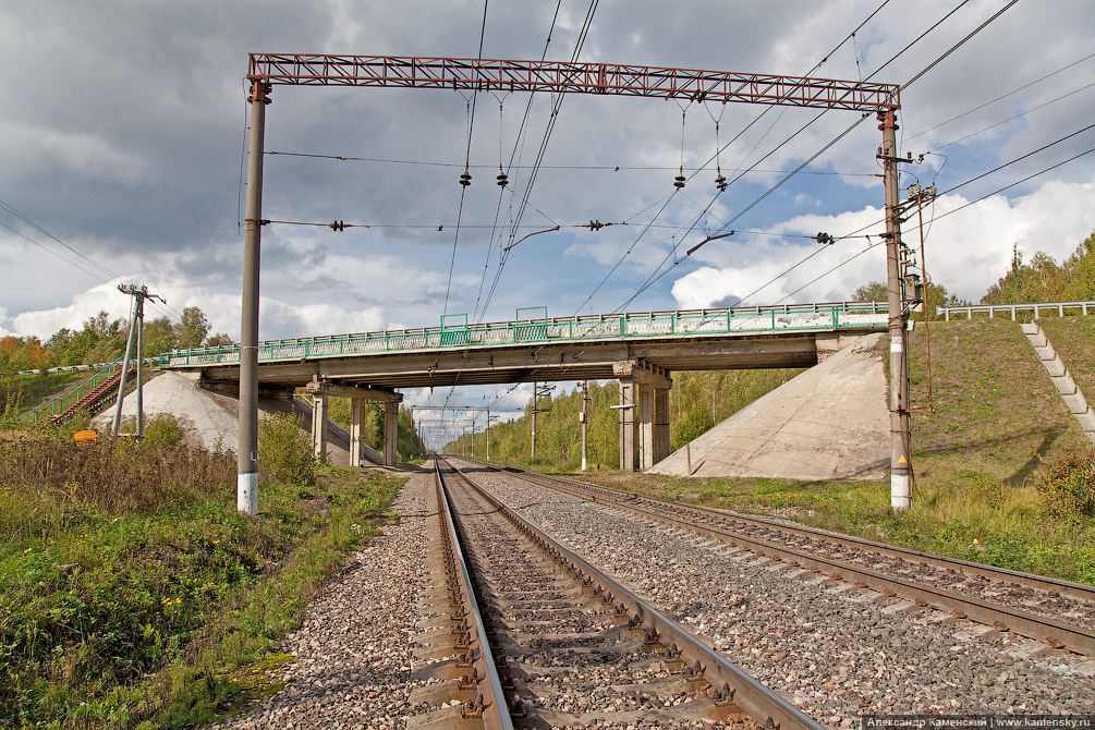 БМО, участок Кресты - Столбовая, станция Кресты, платформа Чернецкое