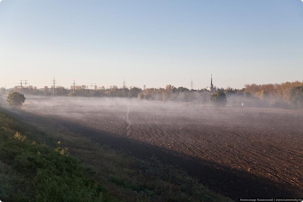 Павелецкое направление, река Пахра мост, Аэроэкспресс, платформа Ленинская