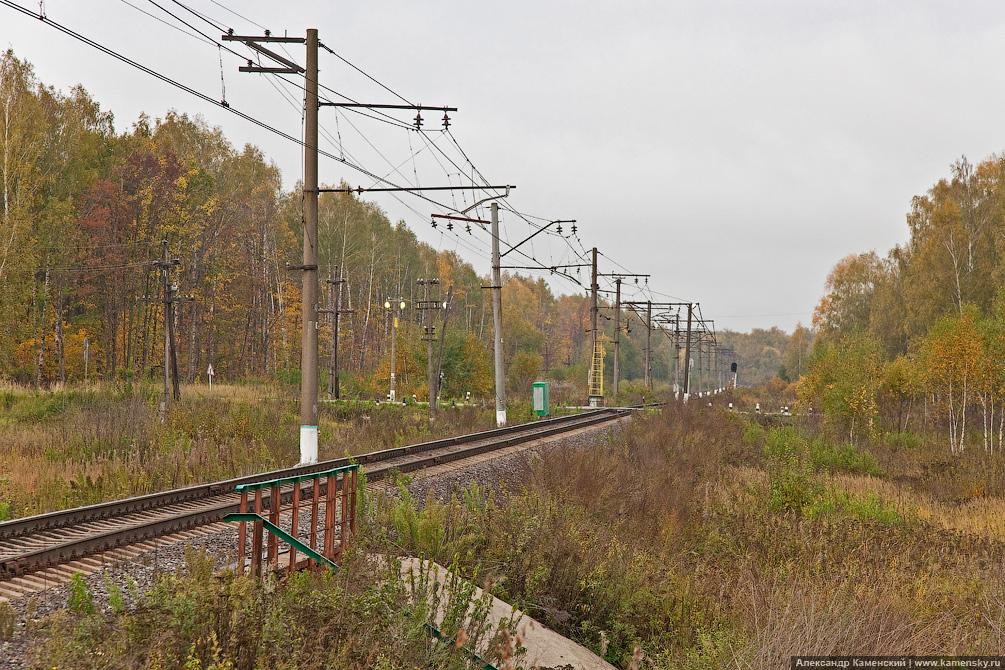 БМО, станция Яганово, развязка в Яганово