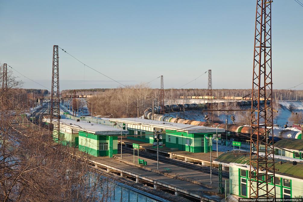 БМО, поездки, Жилёво - Воскресенск - Куровское