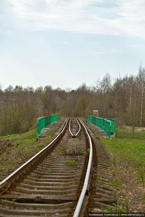 ППЖТ, ведомственная линия Сергиев Посад - Тураково, май