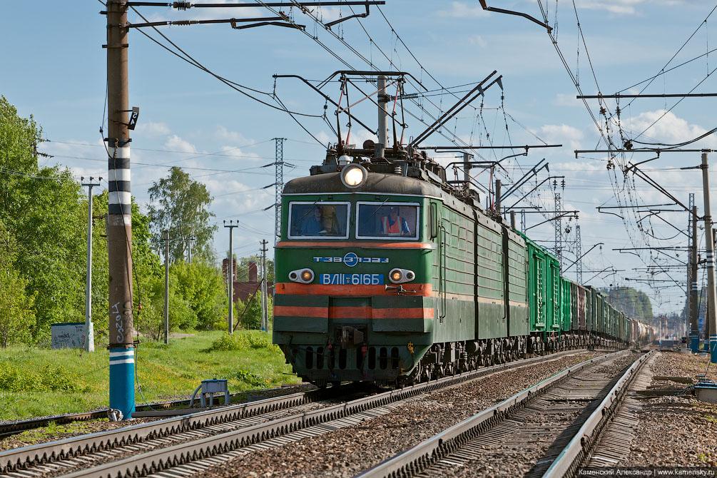 Станция Софрино, Московская область, Электровроз ВЛ11.8-616