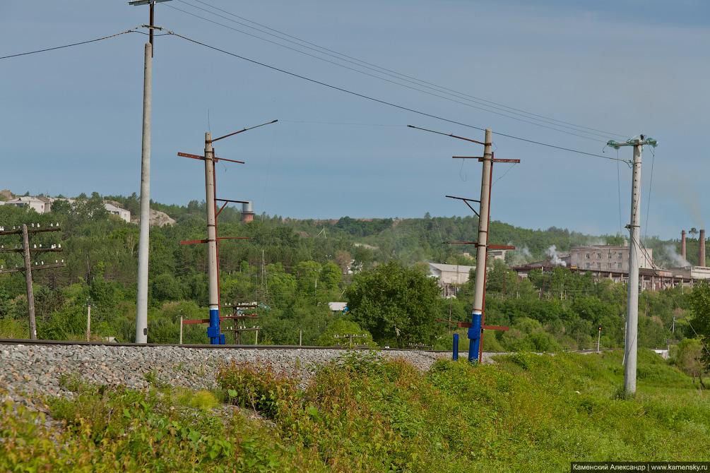 Амурская область, автоматизация сигнализации нарушения габарита, Забайкальская железная дорога