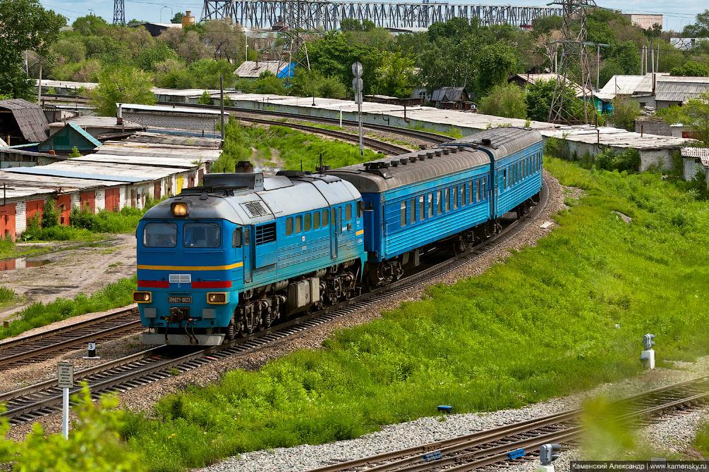 Амурская область, станция Благовещенск, Забайкальская железная дорога, 3М62У-0023