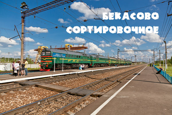 Московская область, станция Бекасово Сортировочное