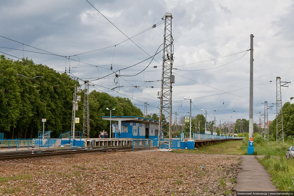 Киевское направление МЖД, станция Внуково, станция Лесной городок, станция Толстопальцево