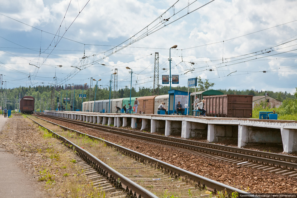 Киевское направление, фотопутешествие по станциям и платформам