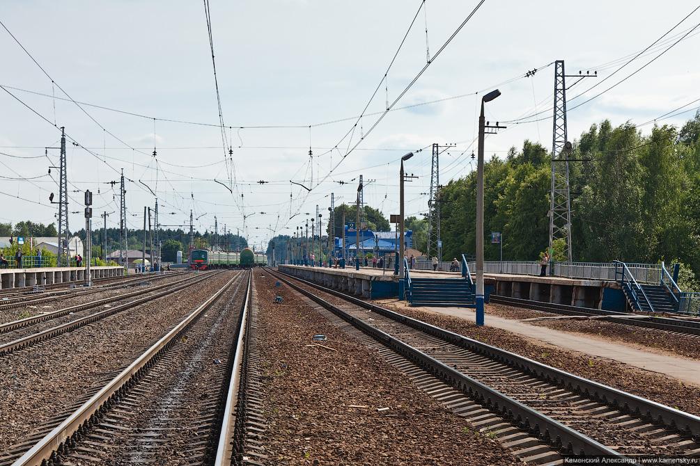 Московская область, Железная дорога, станция Софрино