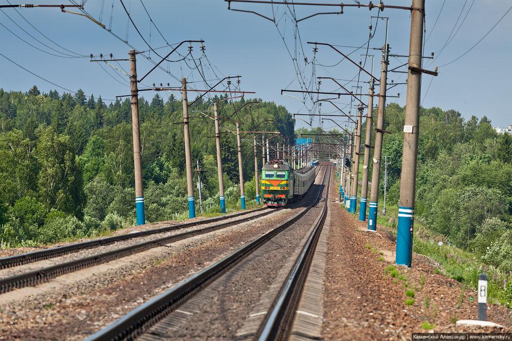 Московская область, Железная дорога, платформа Радонеж