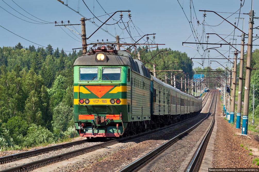 Московская область, Железная дорога, платформа Радонеж, станция Софрино
