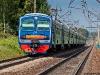 Окрестности платформы Радонеж, электропоезд ЭД4М-0248