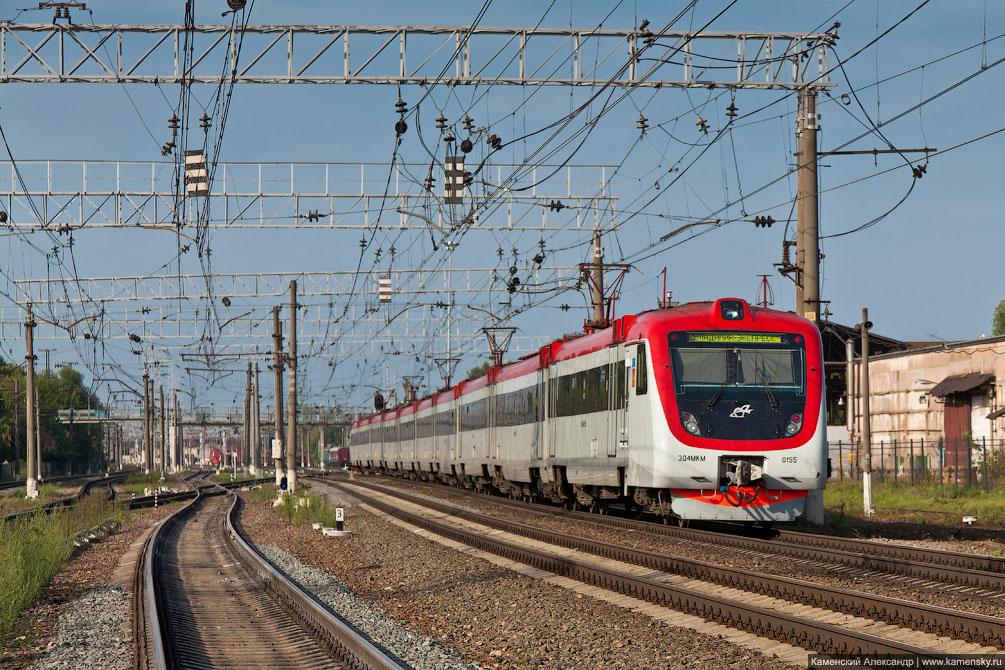 Станция Орехово-Зуево, БМО, ЭД4МКМ-0155, Сапсан, платформа Крутое