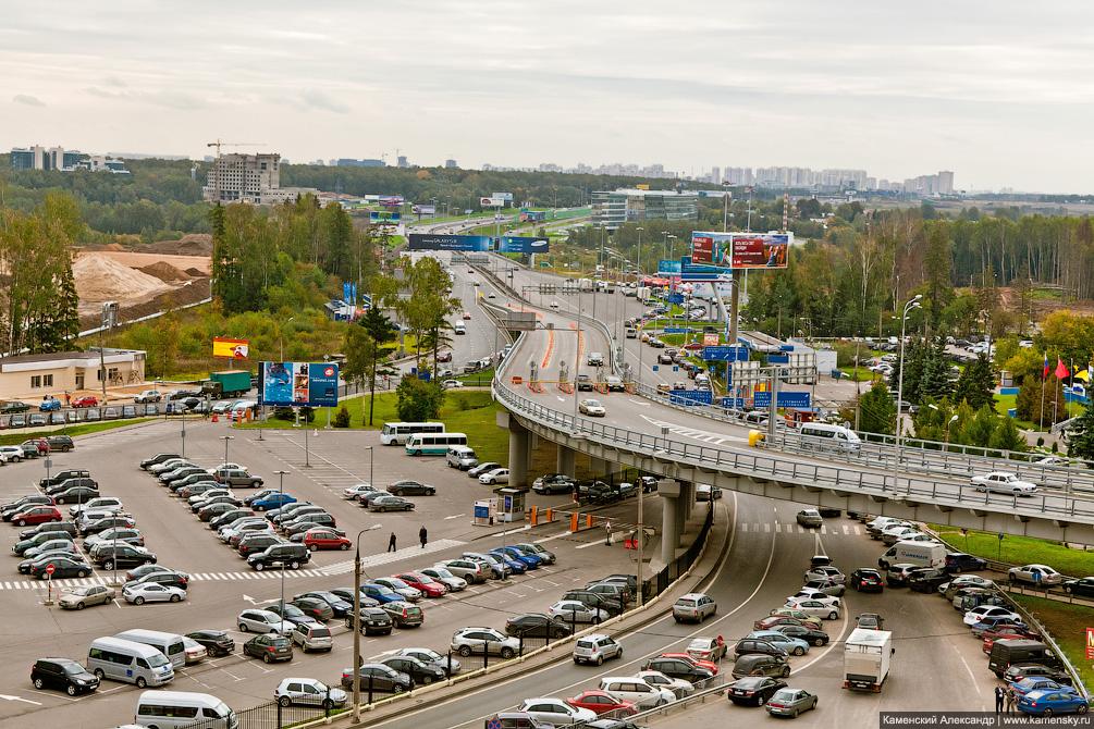 Официальный споттниг в аэропорте Шереметьево, 2011 год, Международное шоссе