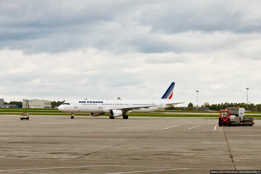 Airbus A320 F-GTAK в Шереметьево SVO