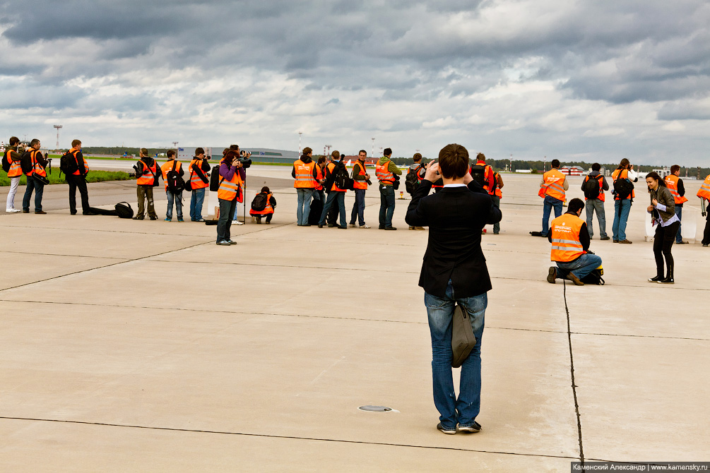 Официальный споттниг в аэропорте Шереметьево, 2011 год, svo.aero