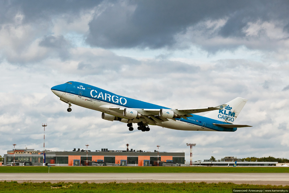 Boeing 747 KLM Cargo PH-CKA