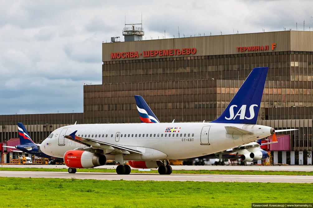 Airbus A319 OY-KBT Шереметьево SVO