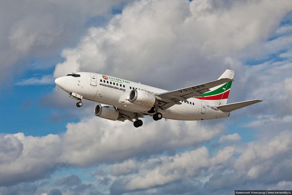 Boeing 737 Авиакомпании Татарстан VQ-BBN