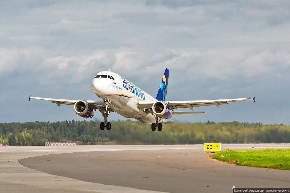 Airbus A320 Авиановы EI-ELN SVO Шереметьево