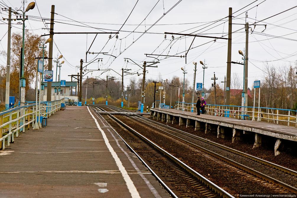 Развязка в Бекасово, БМО, станция Нара, платформа Зосимова Пустынь
