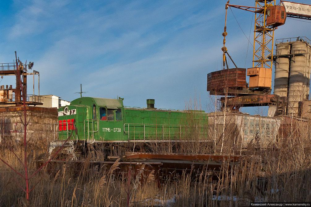 БМО, Московская область, тепловоз ТГМ4Б-0738, станция Михнево, фотографии