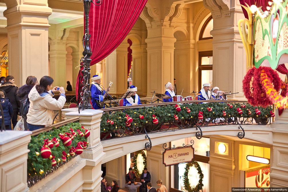 ГУМ, 2011, Новогоднее настроение