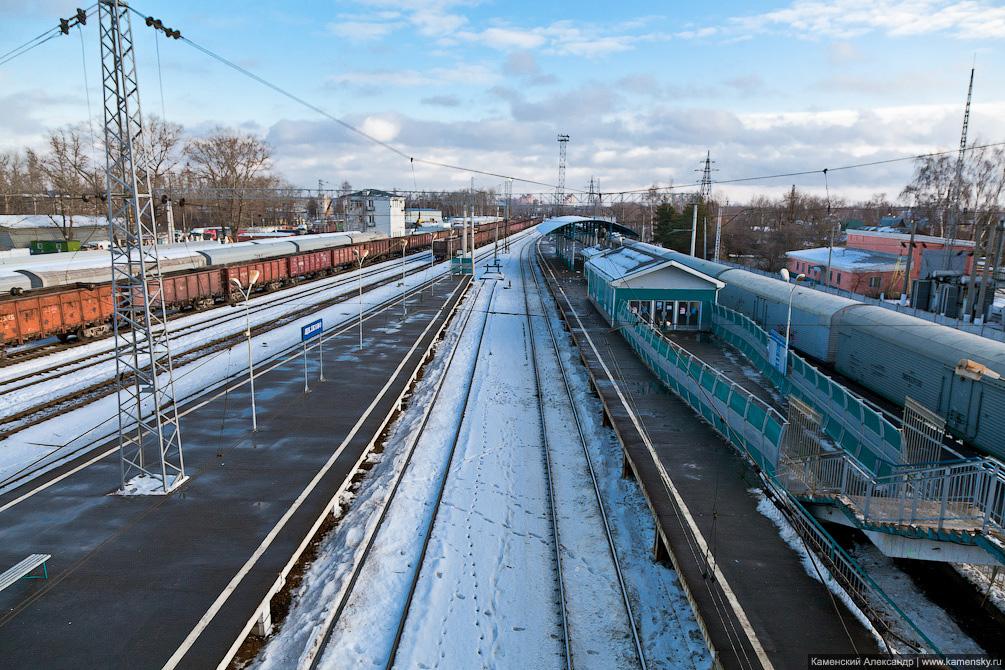 Железная дорога, Щелково, Воронок, Соколовская, Электричка
