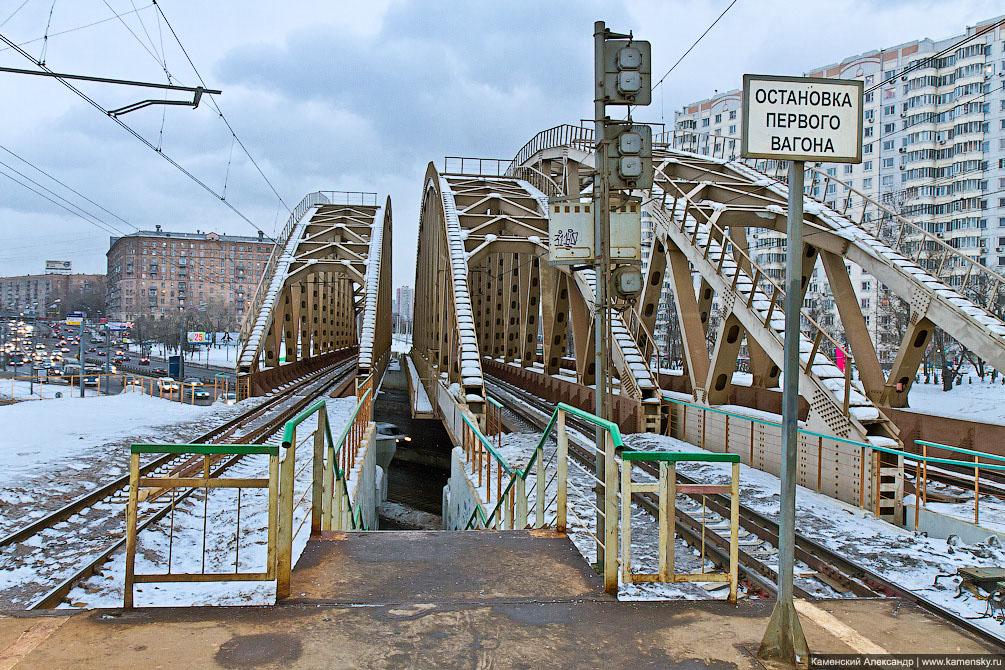 Москва, Павелецкое направление, Железная дорога, платформы
