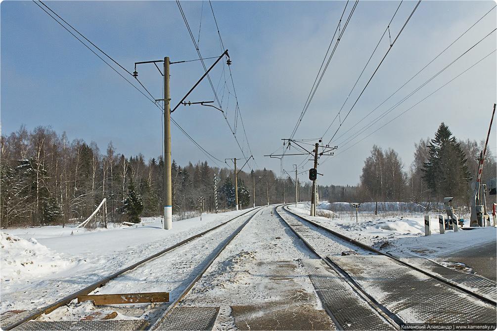 Московская область, Рижское направление, электрички, платформы.