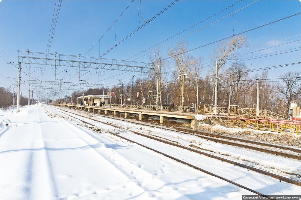 Горьковское направление, Станция Храпуново