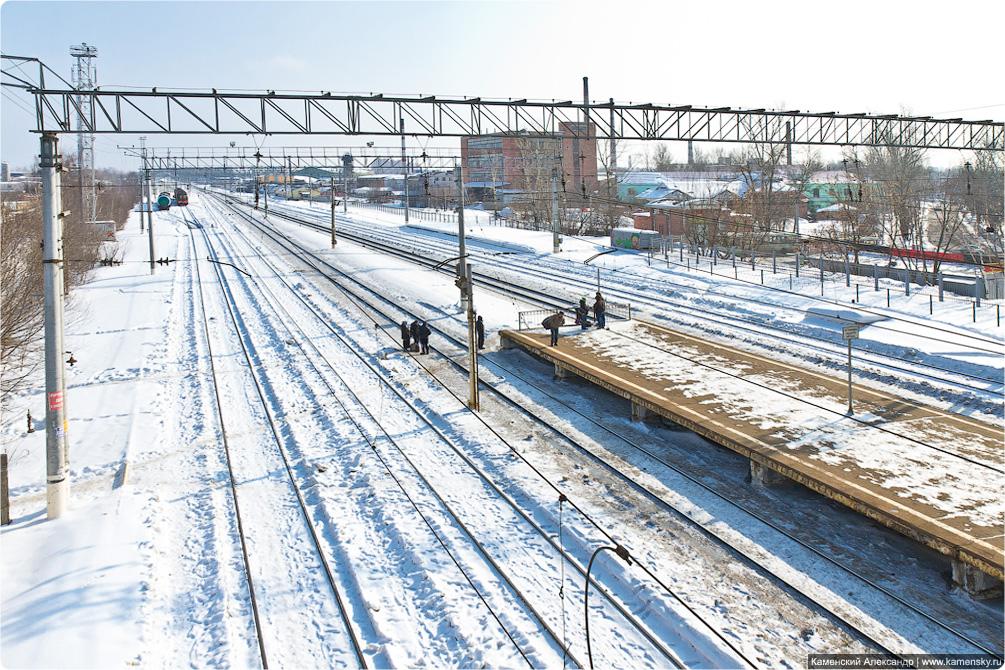Горьковское направление, платформа Электроугли