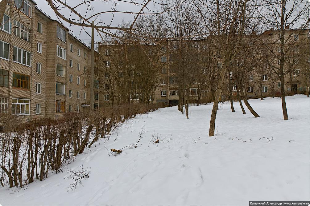 Красноармейск, март, 2012, весна, улицы, Северный, строительство дома
