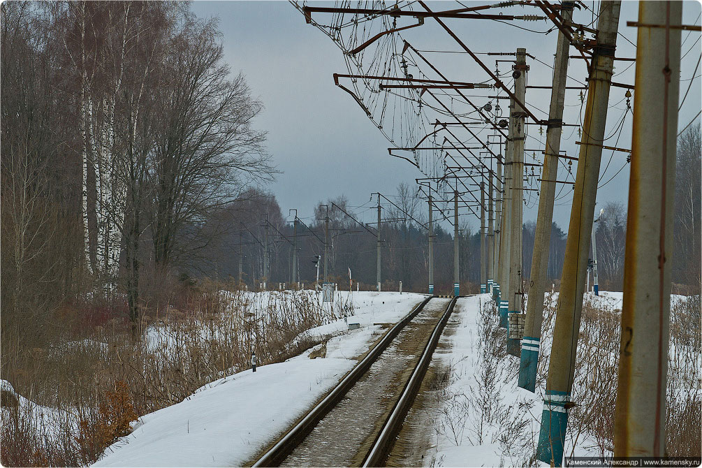 Красноармейская ветка, Московская область