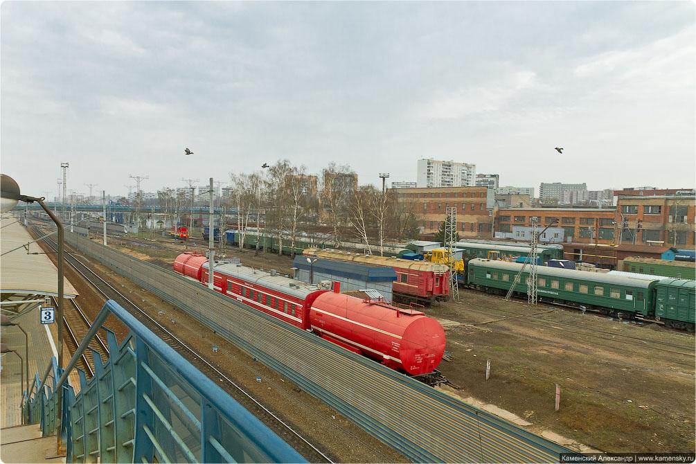 Москва, станция Лосиноостровская