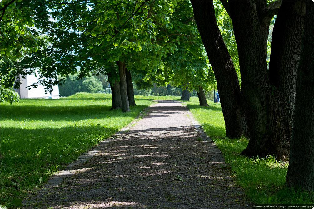 Москва, весна, парк Коломенское