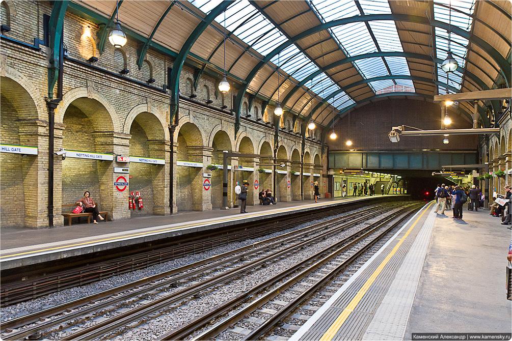 Фото лондонских станций метро